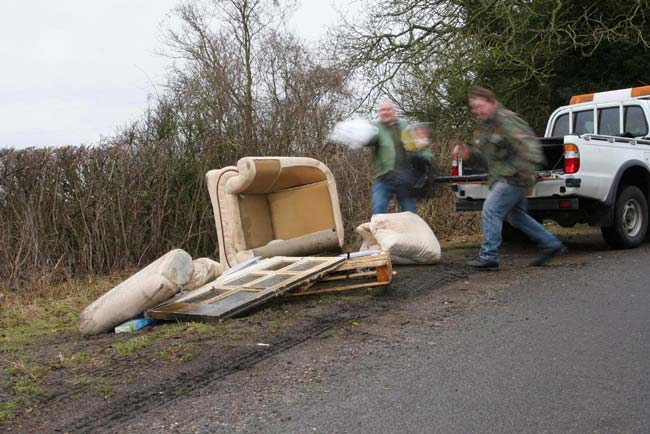 Flytippers - don't feed them!